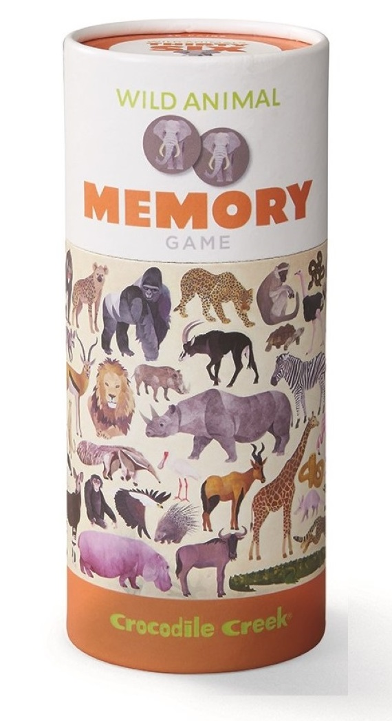 Memory Spiel Wilde Tiere 36 Teile