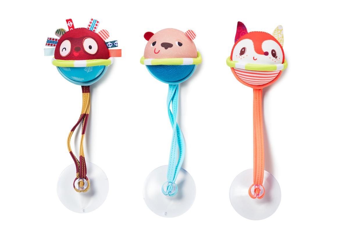 3 Badebälle Spielzeug für die Badewanne