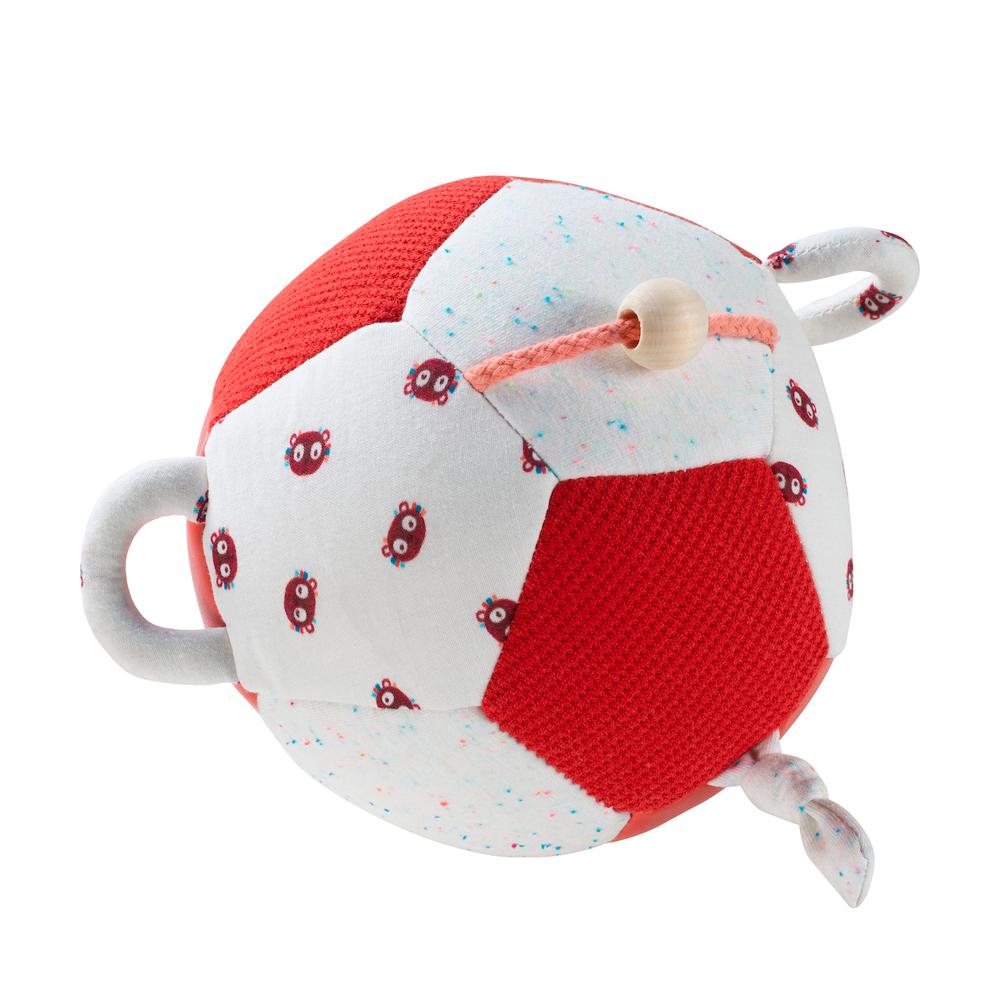 Aktivitäten Ball Georges Lemur hellblau rot