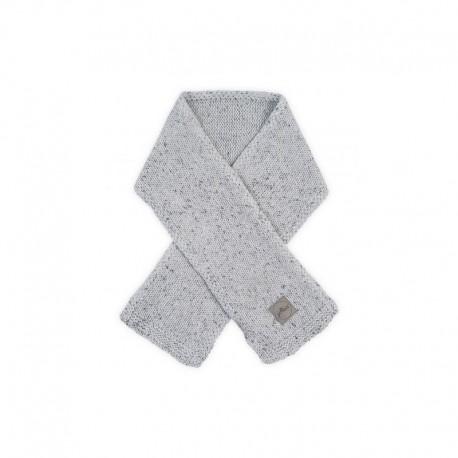 Strick Schall Konfetti Knit grau