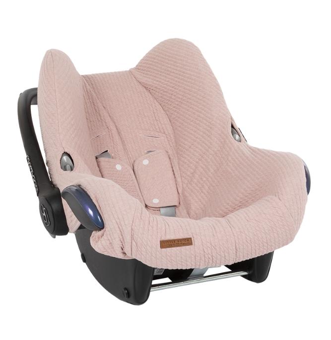 Bezug für Babyschale Pure rosa