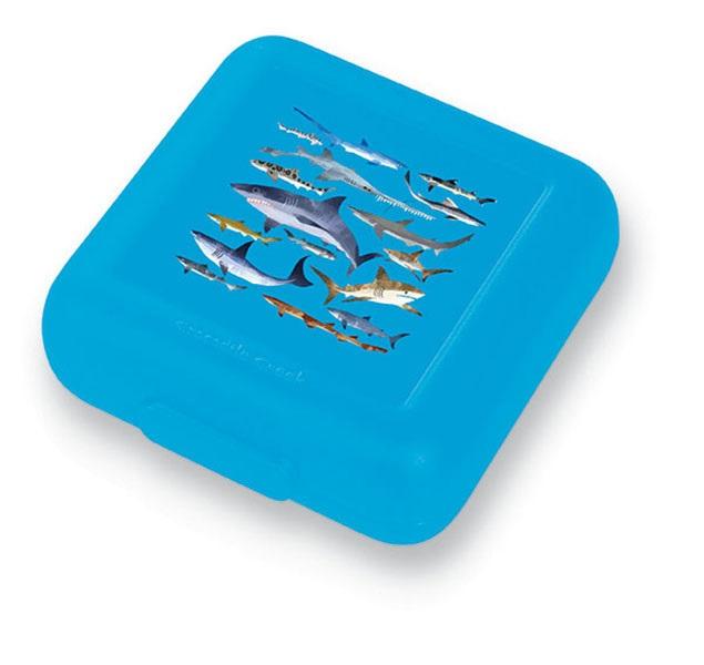 Brotdose Haie blau