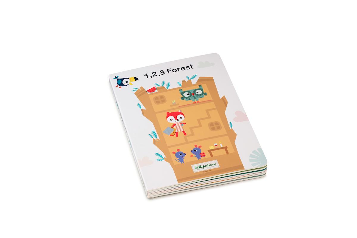 Puzzlebuch 1, 2, 3 Wald