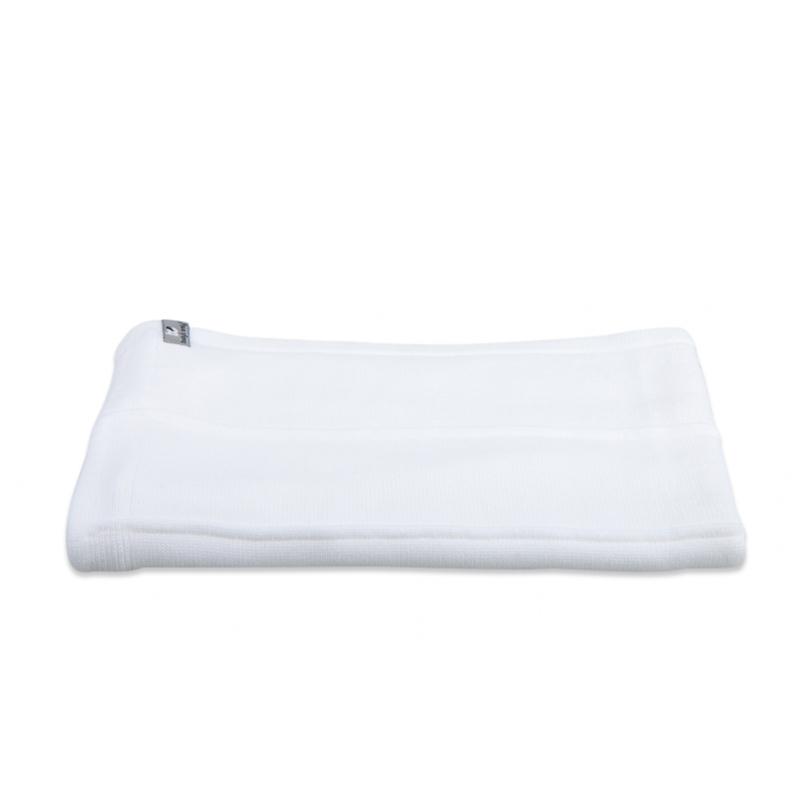Babydecke Strickdecke weiß (70x95 cm)