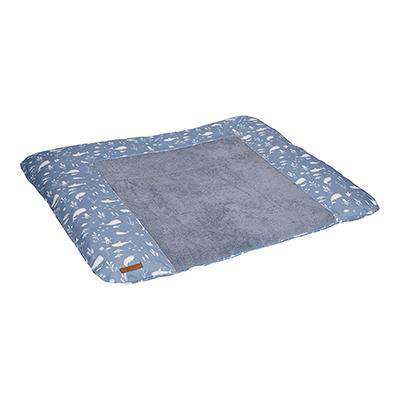 Wickelauflagenbezug Ocean blau (Gr. 75x85 cm)