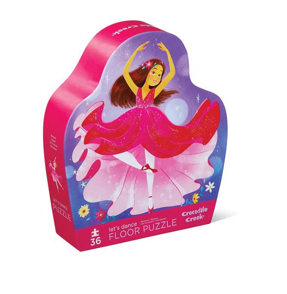 Puzzle Lass und tanzen Ballerina 36 Teile