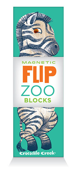 Magnet Würfel Puzzle Zoo Afrikanische Tiere