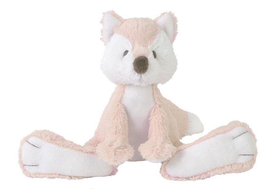 Plüsch Fuchs Stofftier Kuscheltier rosa 22 cm