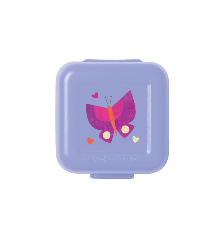 Snackbox 2er Schmetterling lila