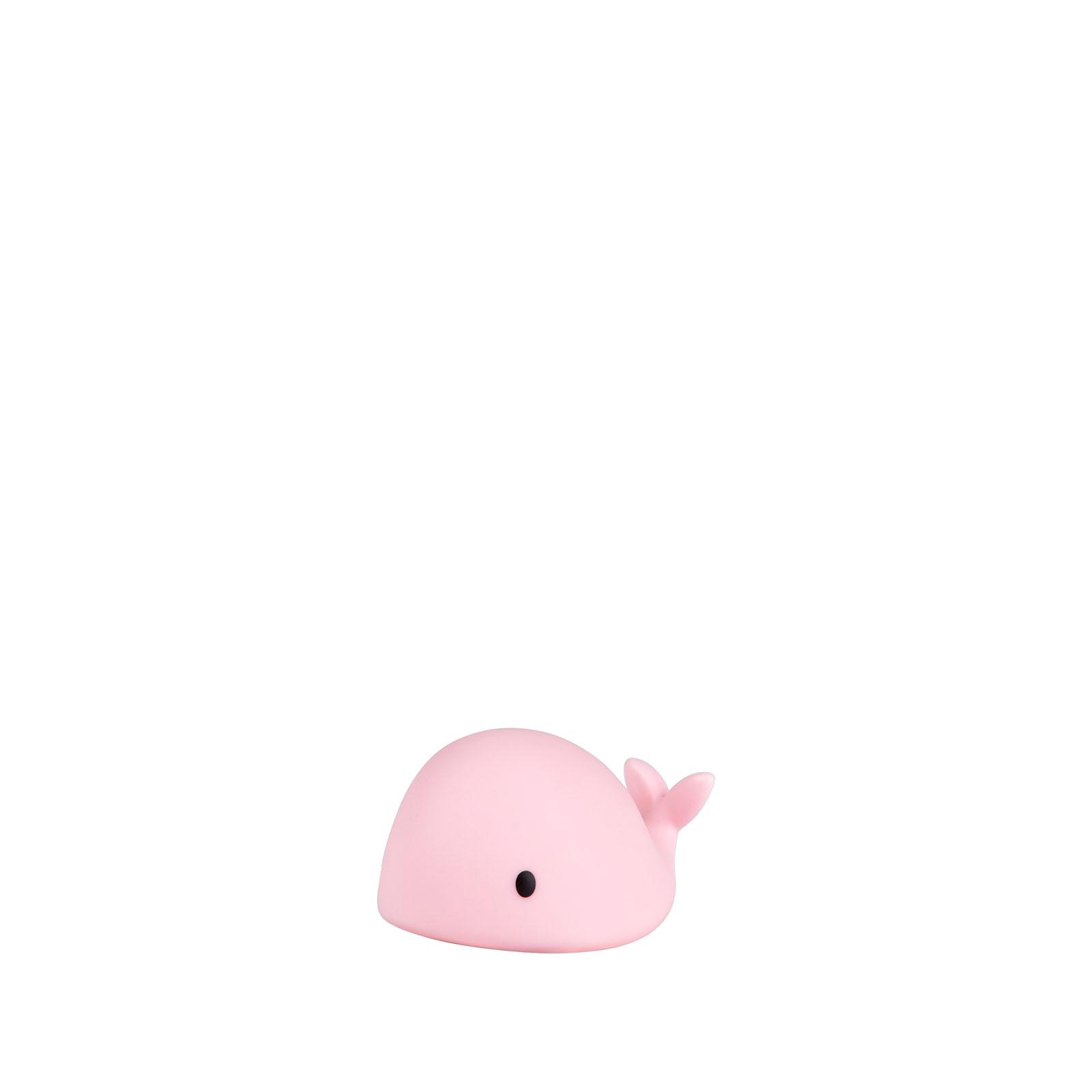 LED Lampe Nachtlicht Walfisch Moby Mini rosa