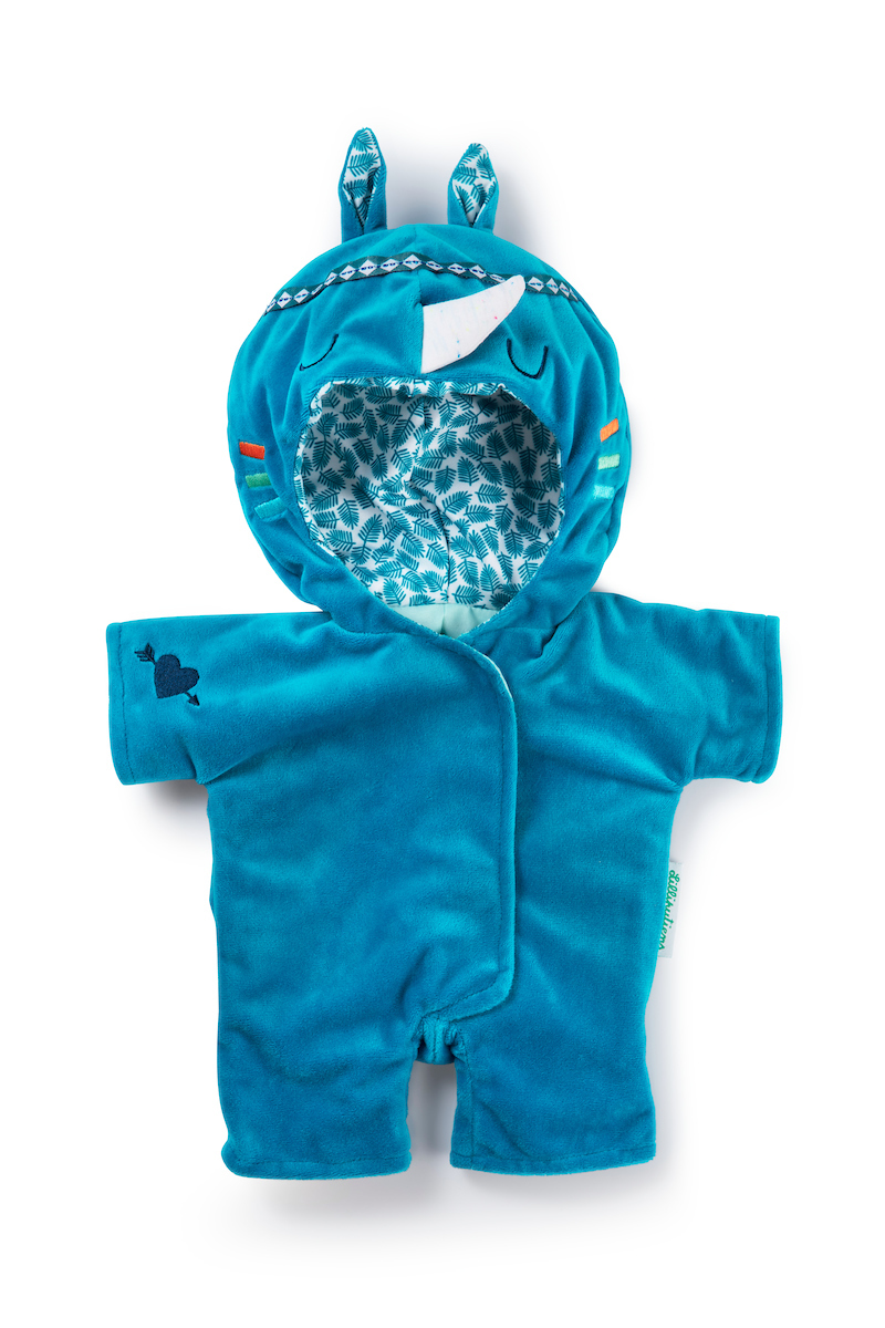 Puppenbekleidung Marius Nashorn für Babypuppen 36 cm
