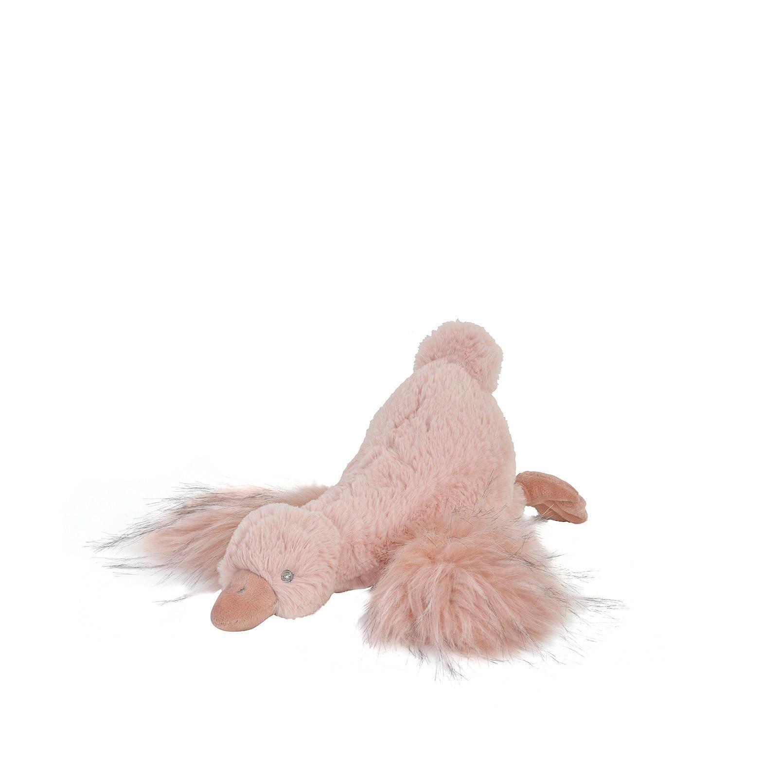 Plüsch Gans Stofftier Kuscheltier rosa 25 cm
