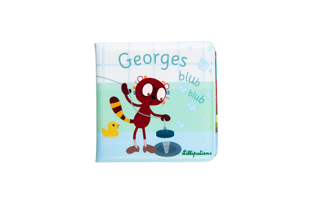 Badebuch Georges der Lemur Blubb Blubb