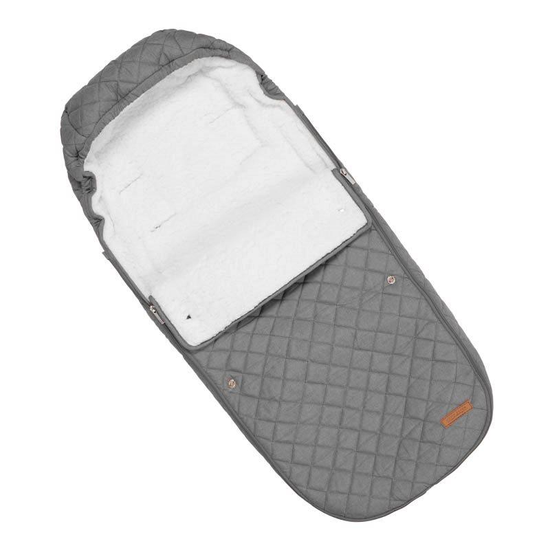 Fußsack für Buggy Pure grau