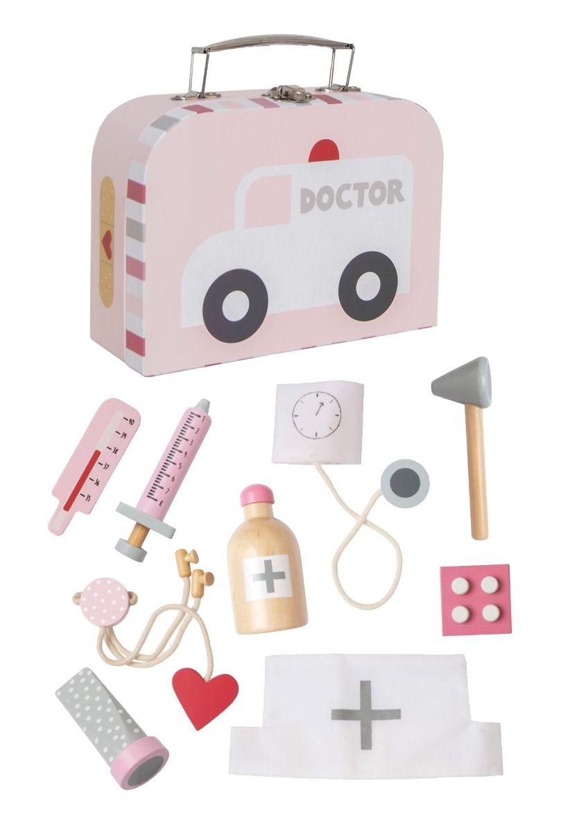 Arztkoffer für Kinder rosa