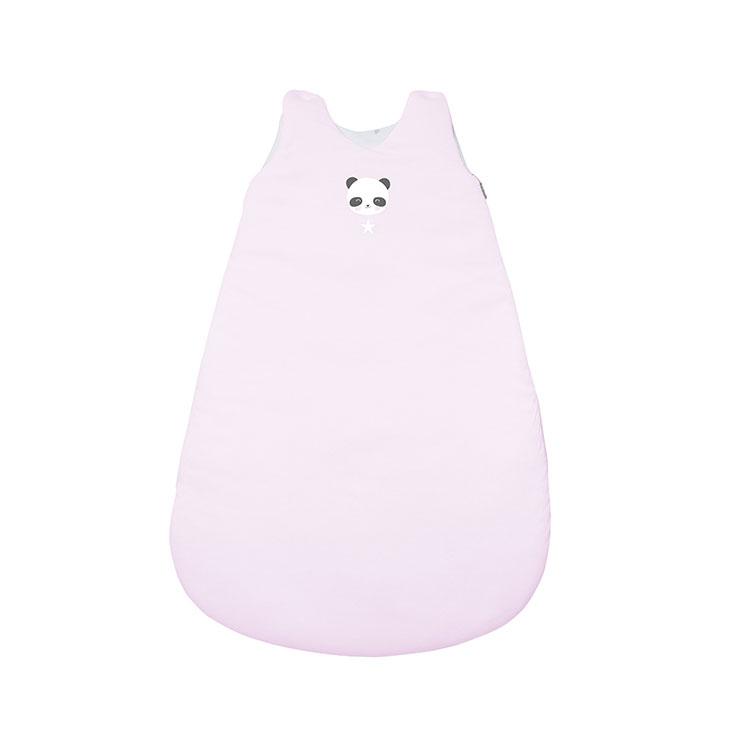 Schlafsack Panda rosa Gr. 56 cm