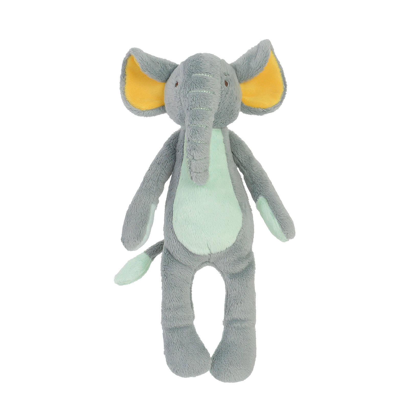Plüsch Elefant Stofftier Kuscheltier stonegreen 25 cm