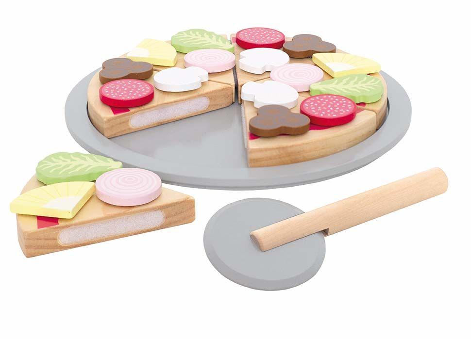 Holz Pizza Set
