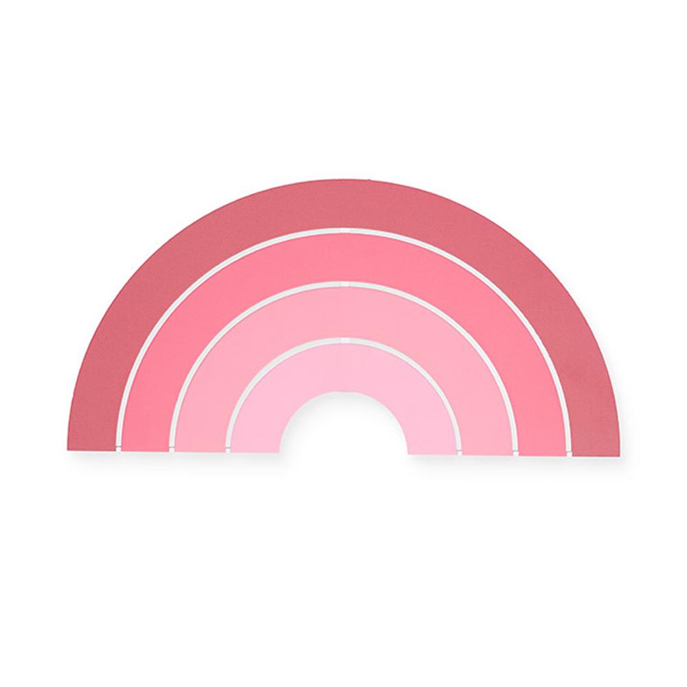 Jollein Holz Wandleuchte LED Lampe Regenbogen rosa pink