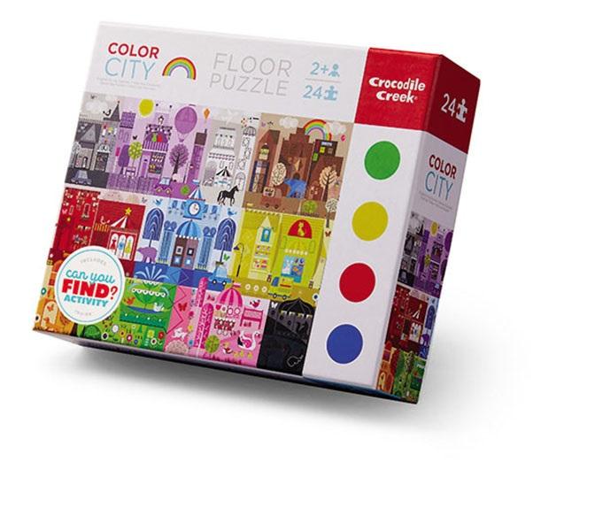 Puzzle Farben Stadt 24 Teile