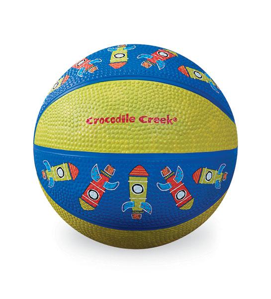Basketball Rakete grün blau Ø 14 cm