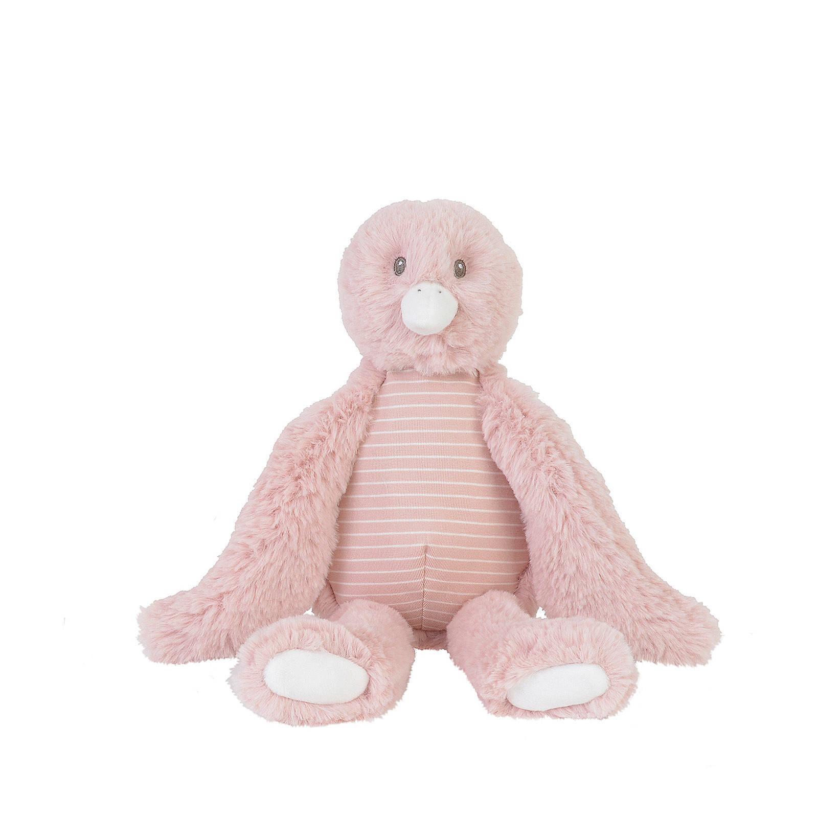 Plüsch Vogel Stofftier Kuscheltier rosa 30 cm