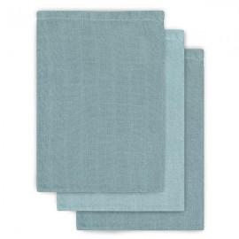 Waschlappen stonegreen mint 3er Set