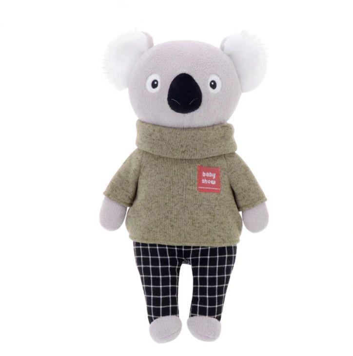 Stofftier Kuscheltier Mr. Koala Bär grün 32 cm