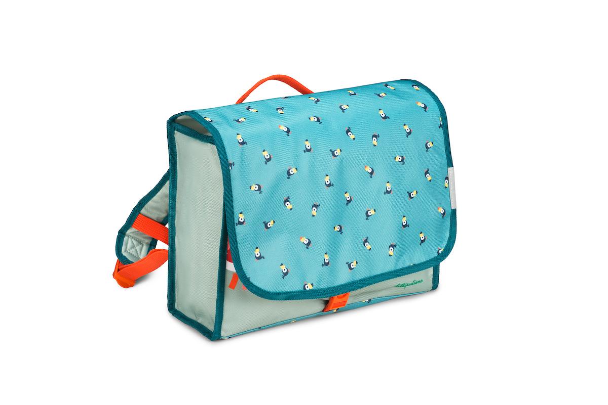 Vorschulranzen Löwe Jack türkis orange blau
