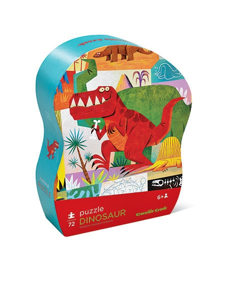 Puzzle Dinosaurier 72 Teile