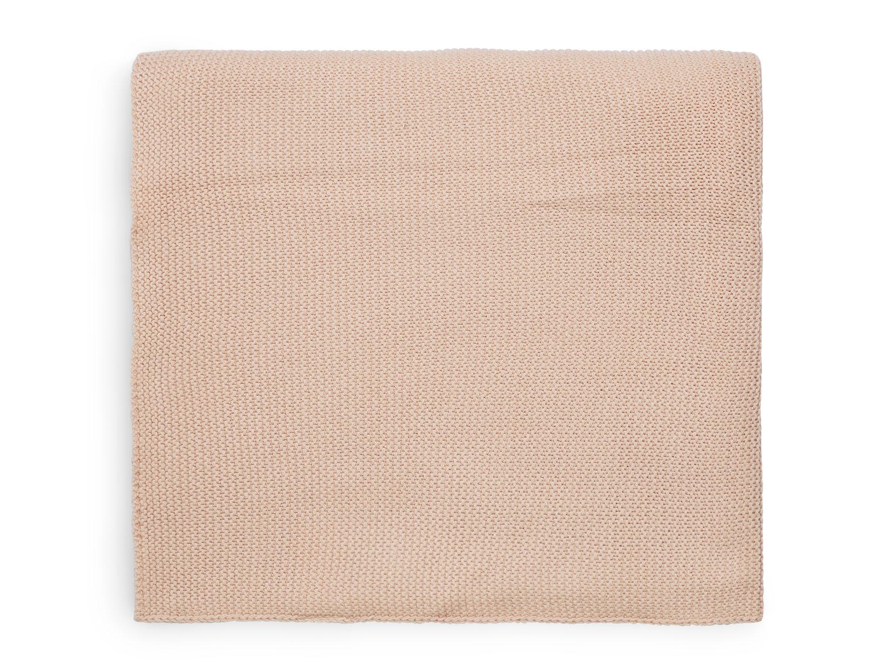 Babydecke Strickdecke Basic Knit rosa (75x100 cm)