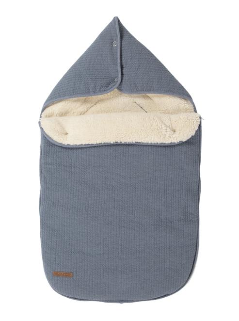 Fußsack für Babyschale Pure blau