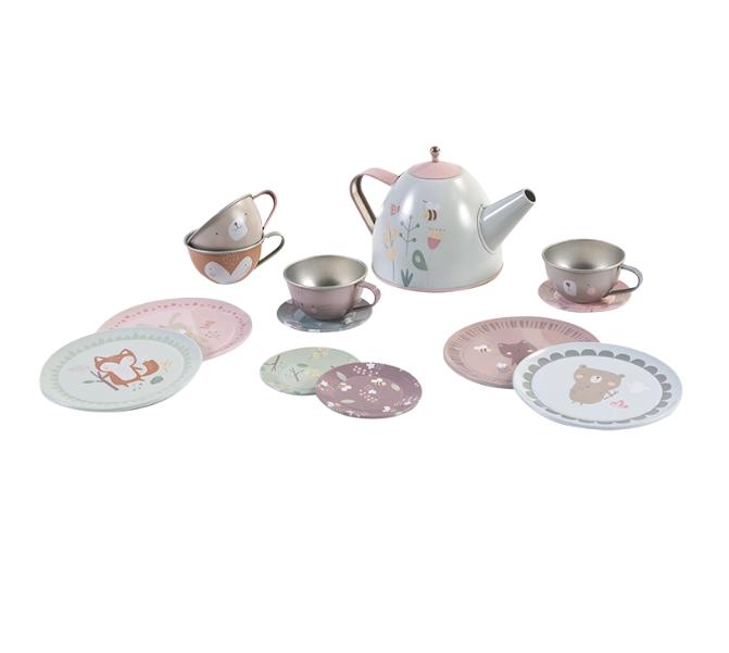 Tee Set Adventure rosa
