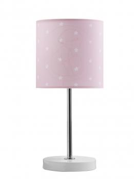 Tischleuchte Lampe rosa
