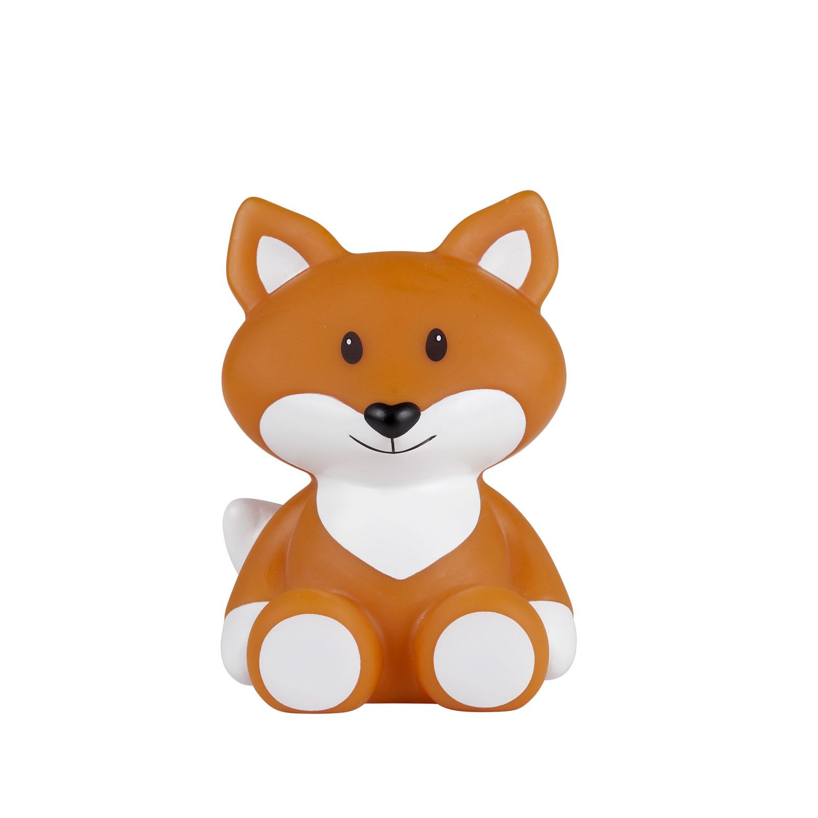 LED Leuchte Nachtlicht Fuchs Robin orange 14 cm