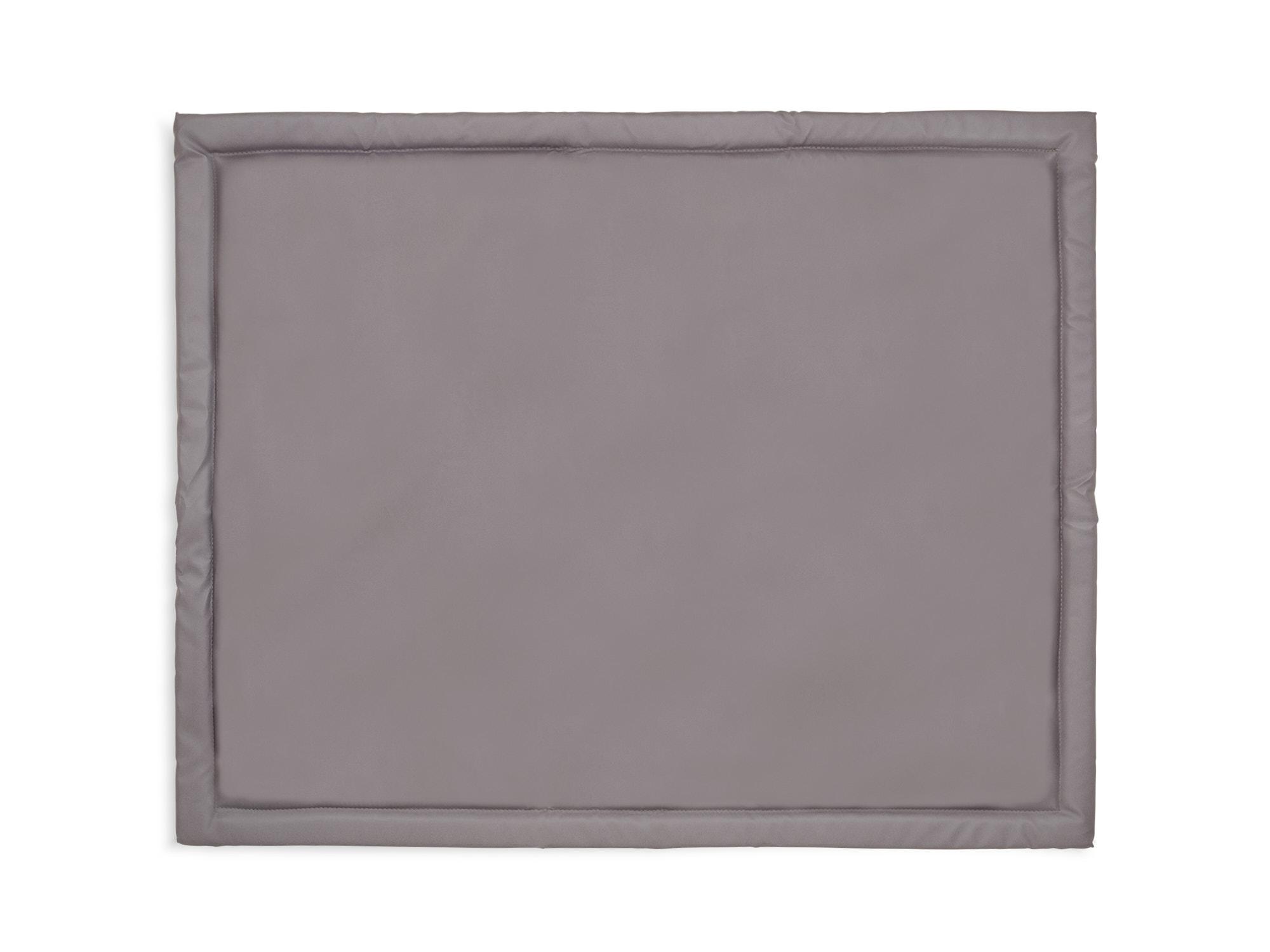 Laufgittereinlage Krabbeldecke Basic grau (75x95 cm)