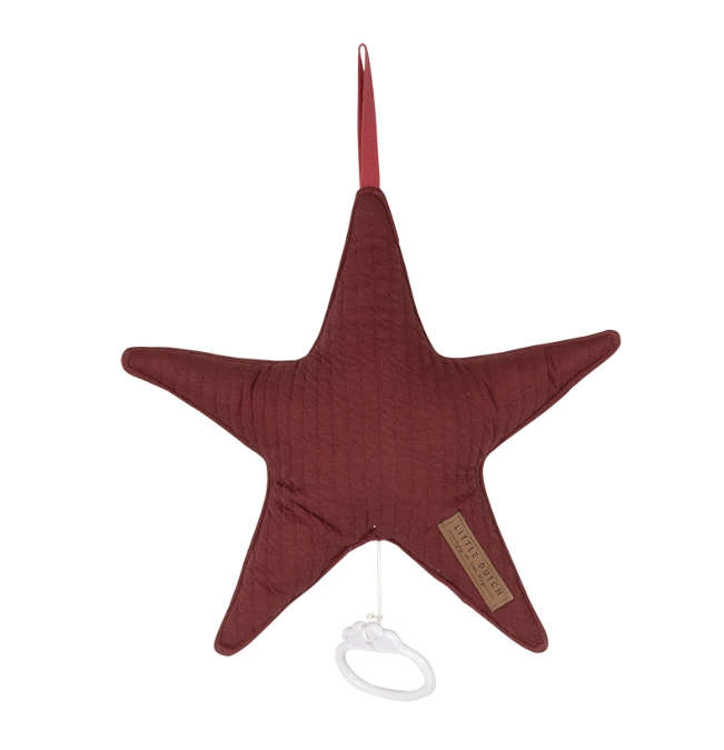 Spieluhr Stern Pure rot