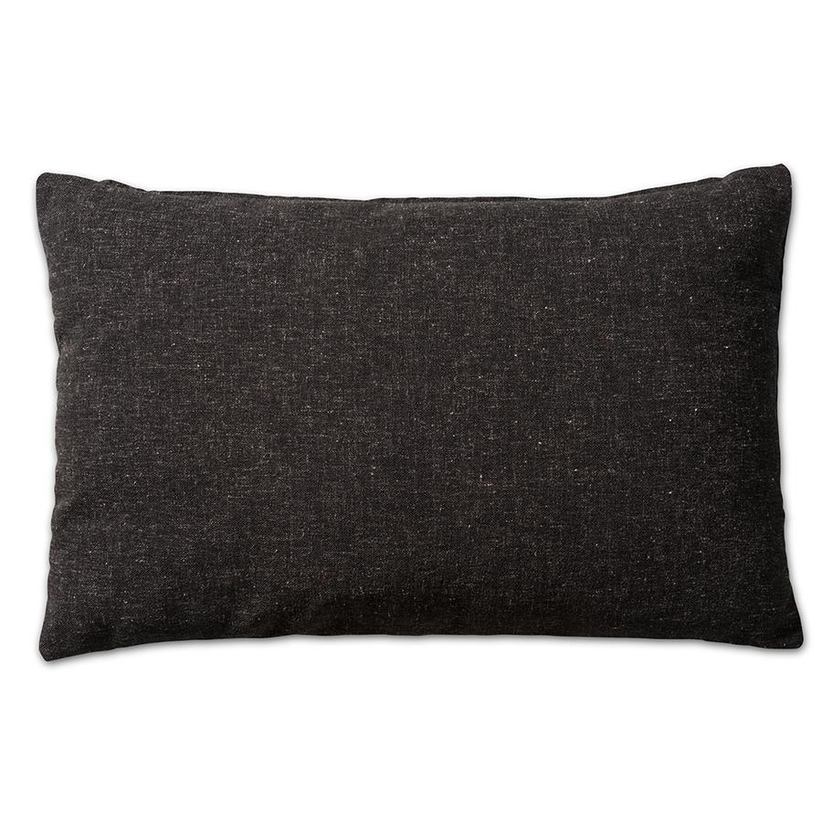 Kissen Lois schwarz Melee 40x60 cm