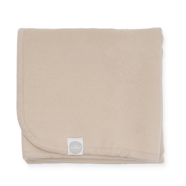 Babydecke Basic Nougat cremebeige (Gr. 75x100 cm)