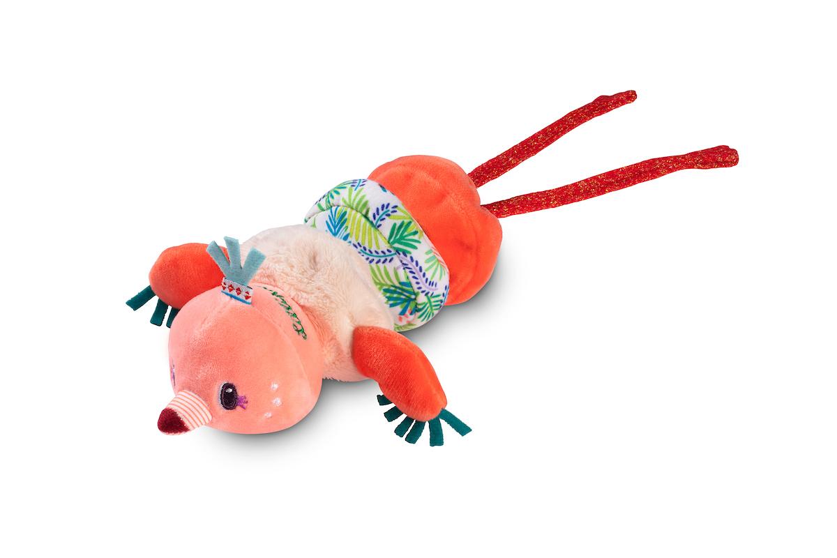 Aufziehfigur Minitänzer Anais Flamingo