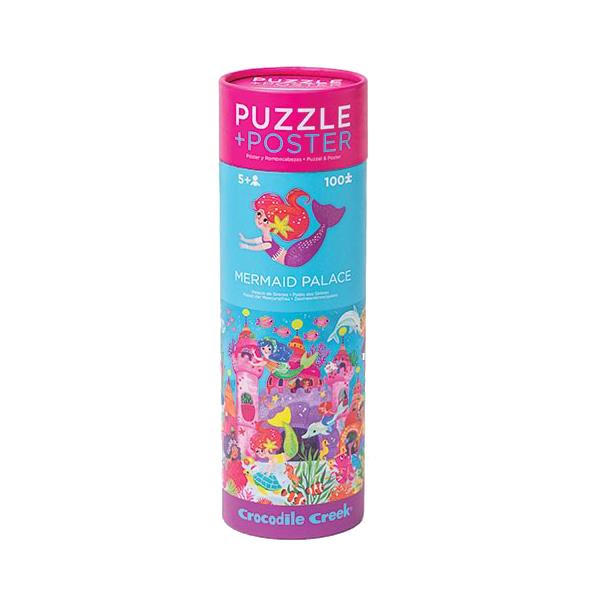 Puzzle + Poster Meerjungfrauen 100 Teile