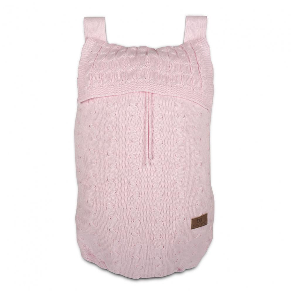 Aufbewahrungstasche / Aufbewahrungssack Zopf baby rosa