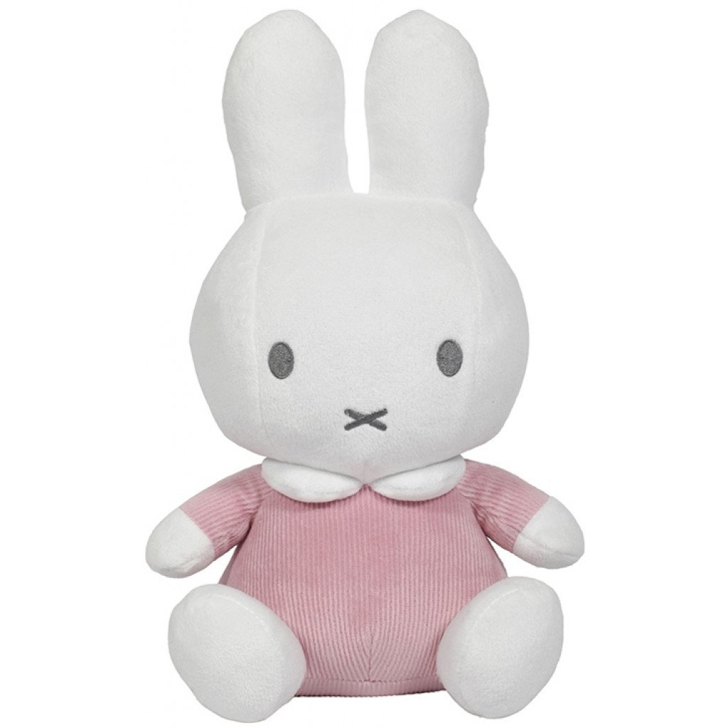Miffy Hase Cord Stofftier Kuscheltier rosa 60 cm