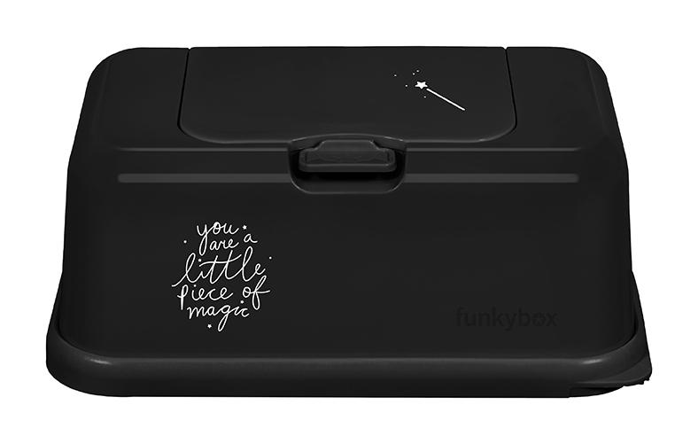 Feuchttücher Aufbewahrungsbox Magic dunkelgrau