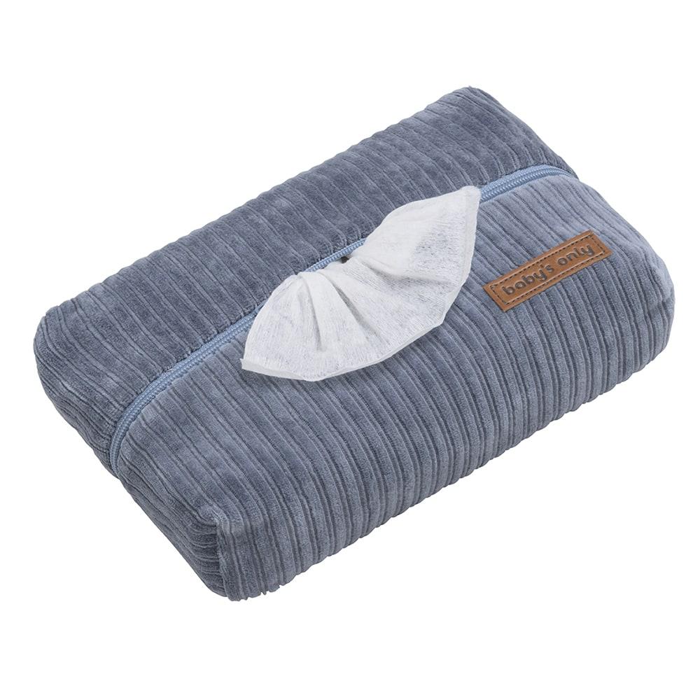 Feuchttücherbezug Cord Sense blau