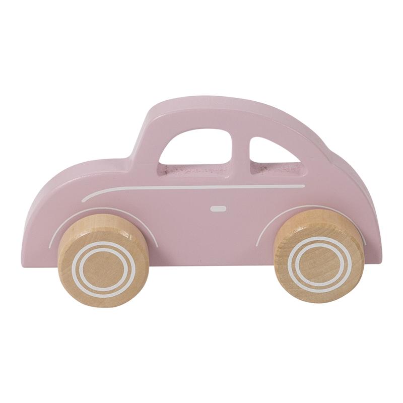 Holzauto rosa