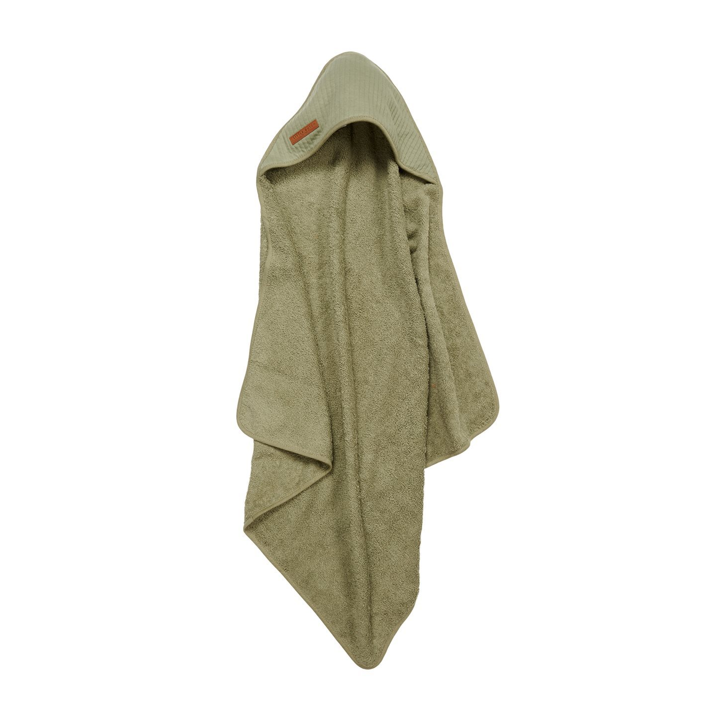 Kapuzenhandtuch Frottee Pure olive (75x75 cm)