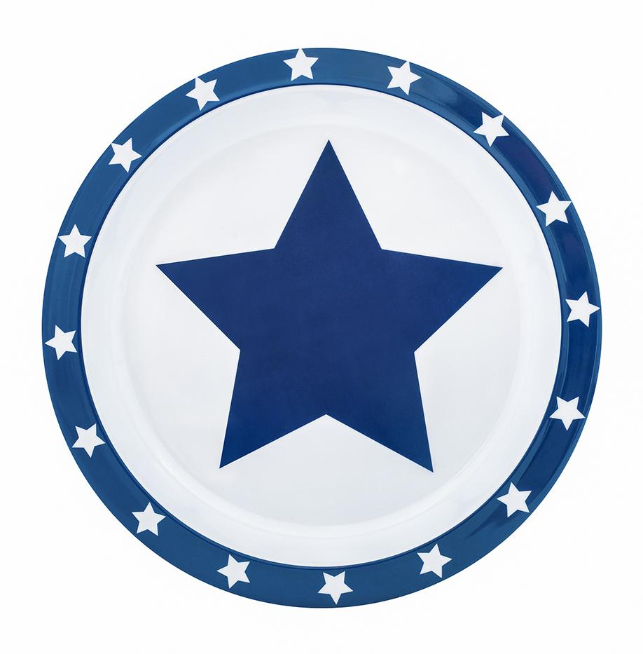 Teller Melamin STARS marine