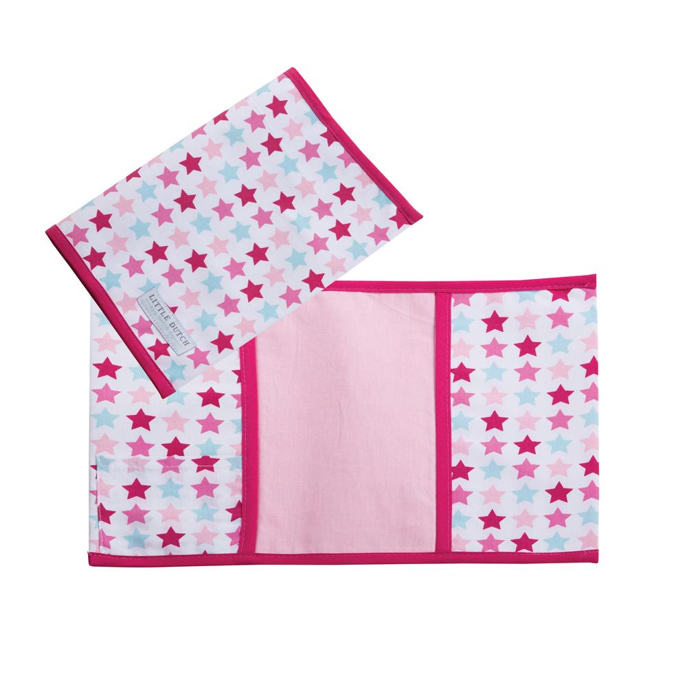 Mutterpass Hülle Mixed Stars rosa