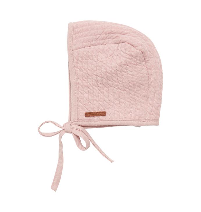 Baby Mütze Pure rosa (Gr. 0-3 Monate)
